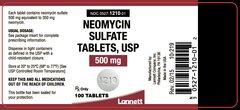 NEOMYCIN SULPHATE500MG 20TAB