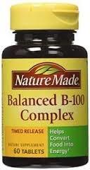 B Complex 100 time releasedcaplet