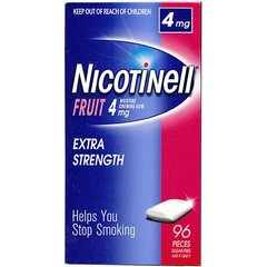 Nicotinell 4mg (Mints or Fruit)Gum
