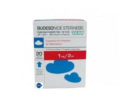 BUDESONIDE STERINEBS TEVA 1 MG/2 ML