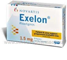 Exelon 1.5 mg Caps.