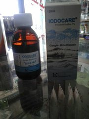 IODOCARE MOUTH GARGLE 120ML