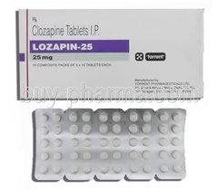 LOZAPINE 25 MG