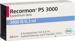 RECORMON 3000IU X 6 READY TO USE