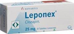 Leponex 25 mg Tab.