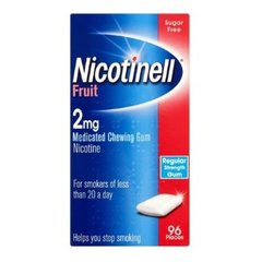 Nicotinell 2mg (Mints or Fruit)Gum