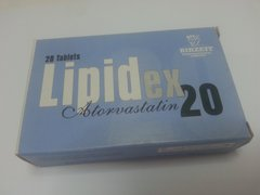 LIPIDEX 20 MG TABLETS