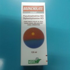 broncholate syrup 120ml