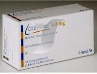 CLEXANE 60 MG./2SYRINGES