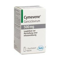 CYMEVENE CAPSULES 500MG 5 AMP