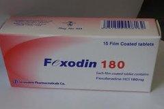 FEXODIN 180 MG