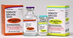 YERVOY 5MG/ML VIAL 40ML