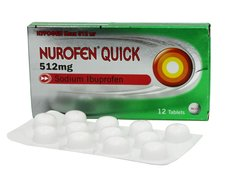 NUROFEN QUICK 512 mg