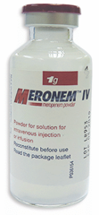 MERONEM 1G 10VIALPOWDER FOR SOL. FOR INJ.