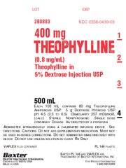 THEOPHYLLINE IN 5% DEXTROSE INJECT. USP