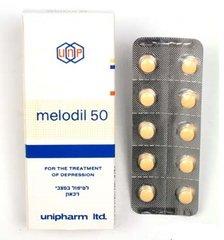 MELODIL 50MG 30TAB