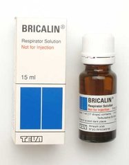 BRICALIN SOLUTION RES SOL 15ML