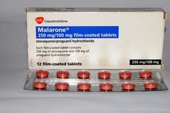 Malarone tab 250 mg
