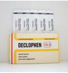 Declophen 12.5 supp