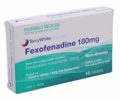 FEXOFENADINE 180MG.