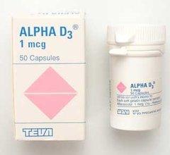 ALPHA D3 1 MCG