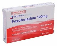 FEXOFENADINE 120MG.
