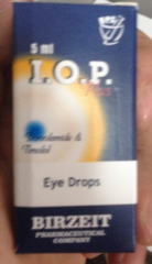 I.O.P. PLUS EYE DROPS
