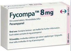 FYCOMPA 8 MG