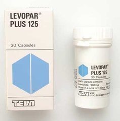 LEVOPAR PLUS 125 CAPS