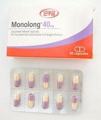 MONOLONG CAPS 40 MG