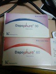 DAPOPHURE 30MG 4 TABLETS