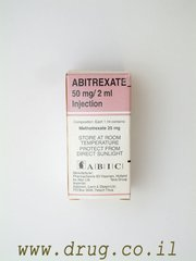 ABITREXATE 50mg /2ML 1