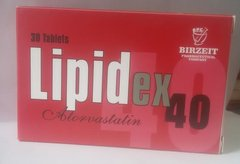 LIPIDEX 40 MG TABLETS