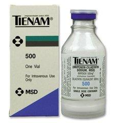 TIENAM I.V. 500MG X10