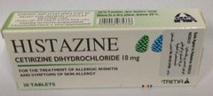 Histazine 20Tab