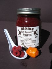Hot Raspberry Preserves