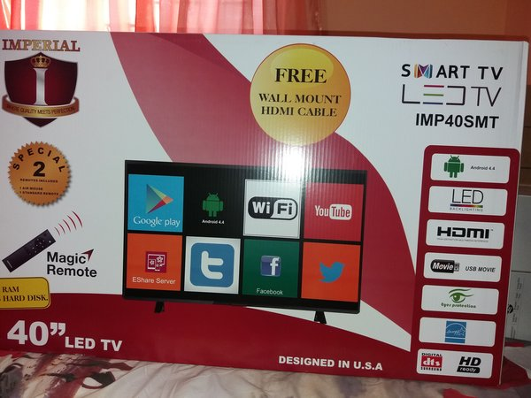 tv 40 inch smart. imperial 40\ tv 40 inch smart