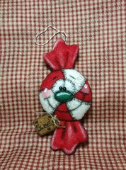 Candy Coated Christmas Ornament Pattern #244