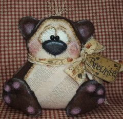 Brownie the Bear Pattern #206