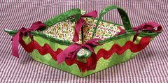 Small Christmas Cookie/Treat Carrier