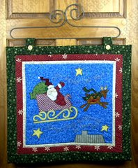 Better Not Pout Quilted Wall Hanging