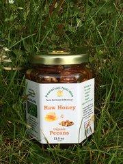 Raw Honey & Organic Pecans 11.5 OZ.