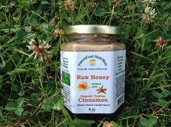 Ceylon Organic Cinnamon & Raw Wildflower Honey 9 OZ.