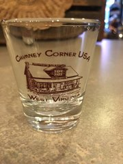 Chimney Corner Shot Glass