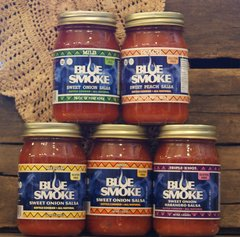 Blue Smoke Salsa