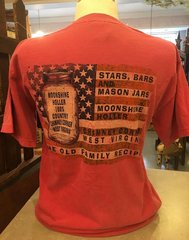 """Stars, Bars and Mason Jars"" T-Shirt"