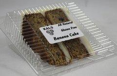 Gluten Free Banana Cake Slice