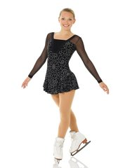 Figure Skating Dress 662 Glitter Shiny Nylon Adult Extra Large by Mondor