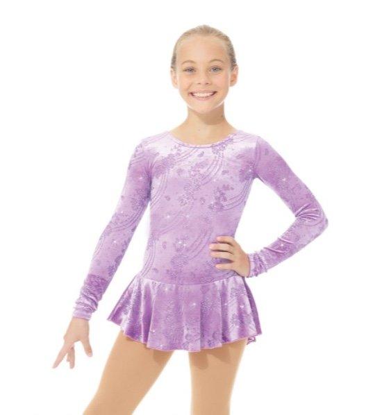 Figure Skating Dress 2723 Born to Skate Glitter by Mondor