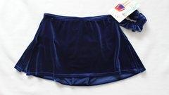 Mondor Box Skating Skirt Royal Blue Ladies Small